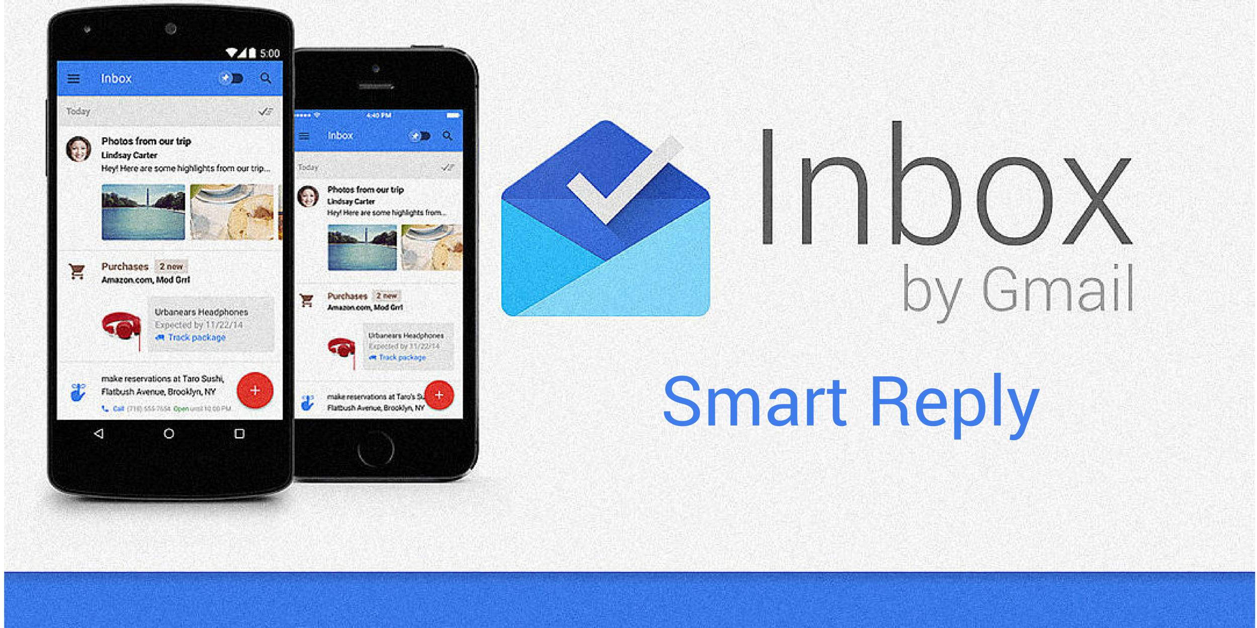 Google теперь будет не только читать ваши письма, но и отвечать на них - http://lifehacker.ru/2015/11/05/smart-reply/