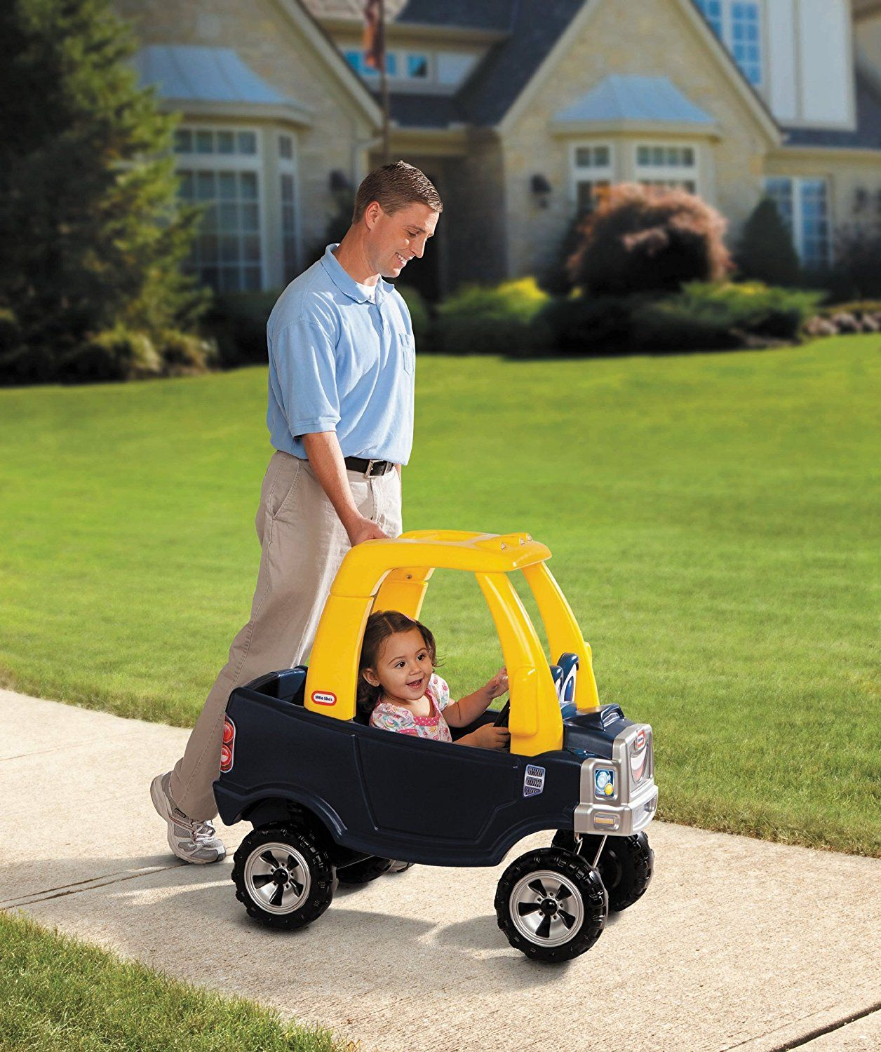 Little Tikes Cozy Truck Review Toddler car, Building for