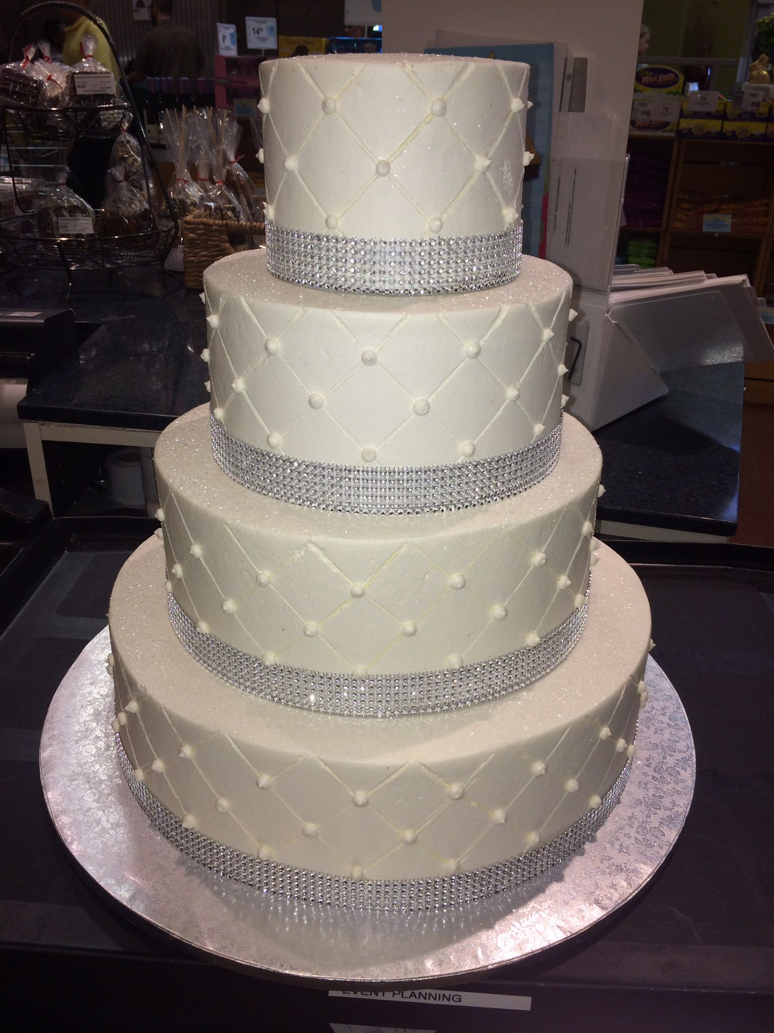 Publix GreenWise Wedding Cake Hyde Park Tampa FL