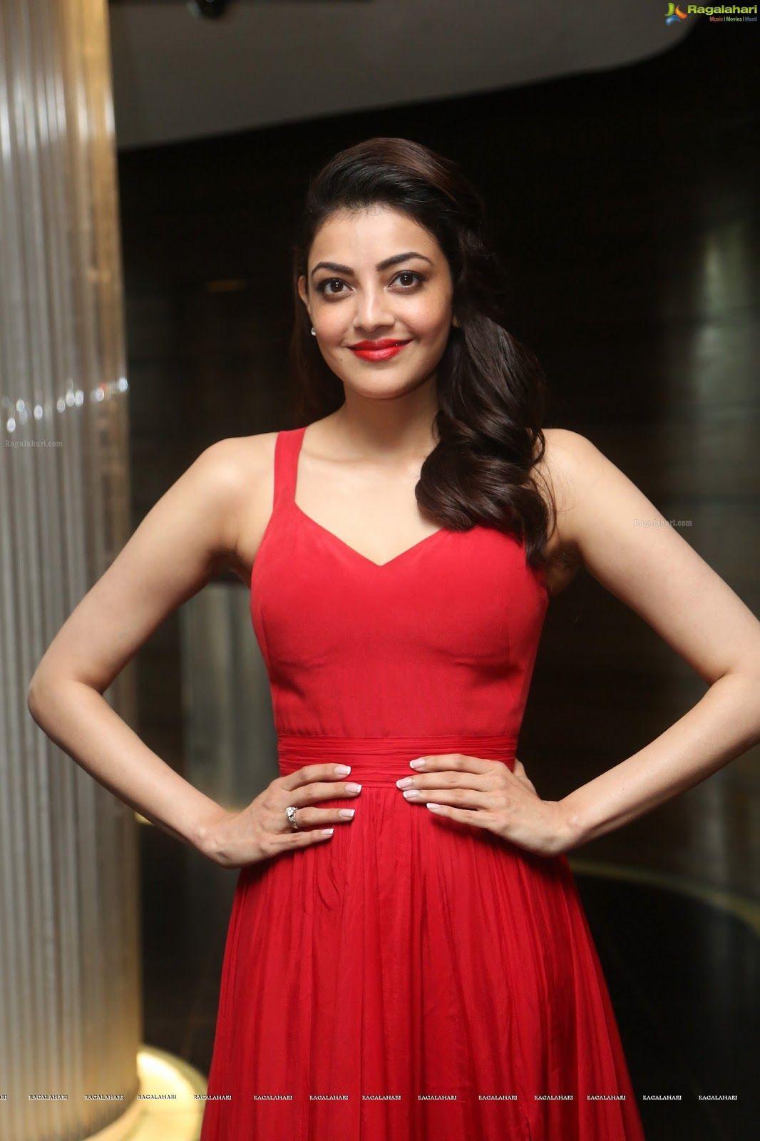 kajal aggarwal collection: kajal aggarwal red dress   kajal aggarwal