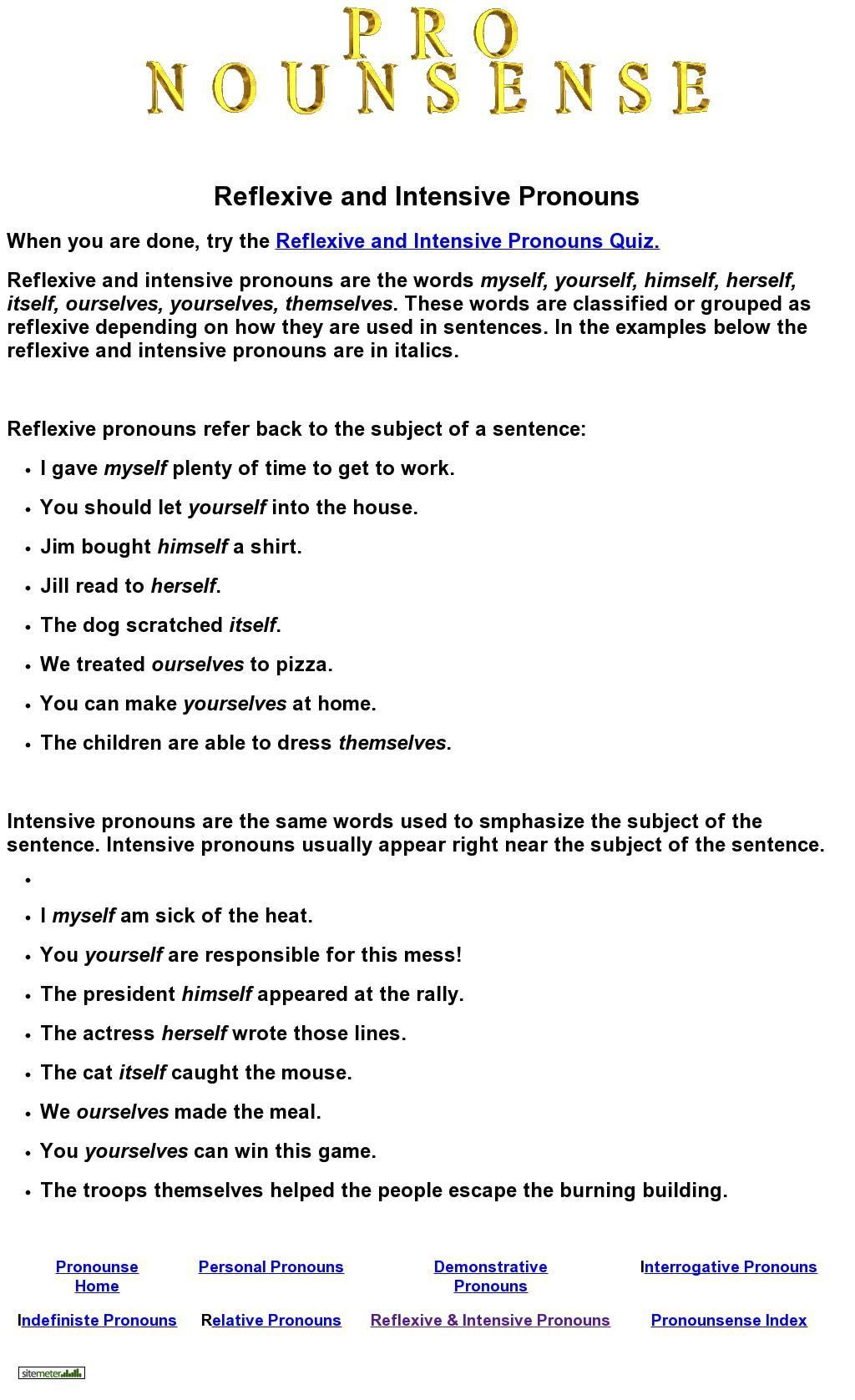 Relative Pronouns Worksheets 4th Grade In 2021 Intensive Pronouns Relative Pronouns Pronoun Worksheets [ 1677 x 1024 Pixel ]