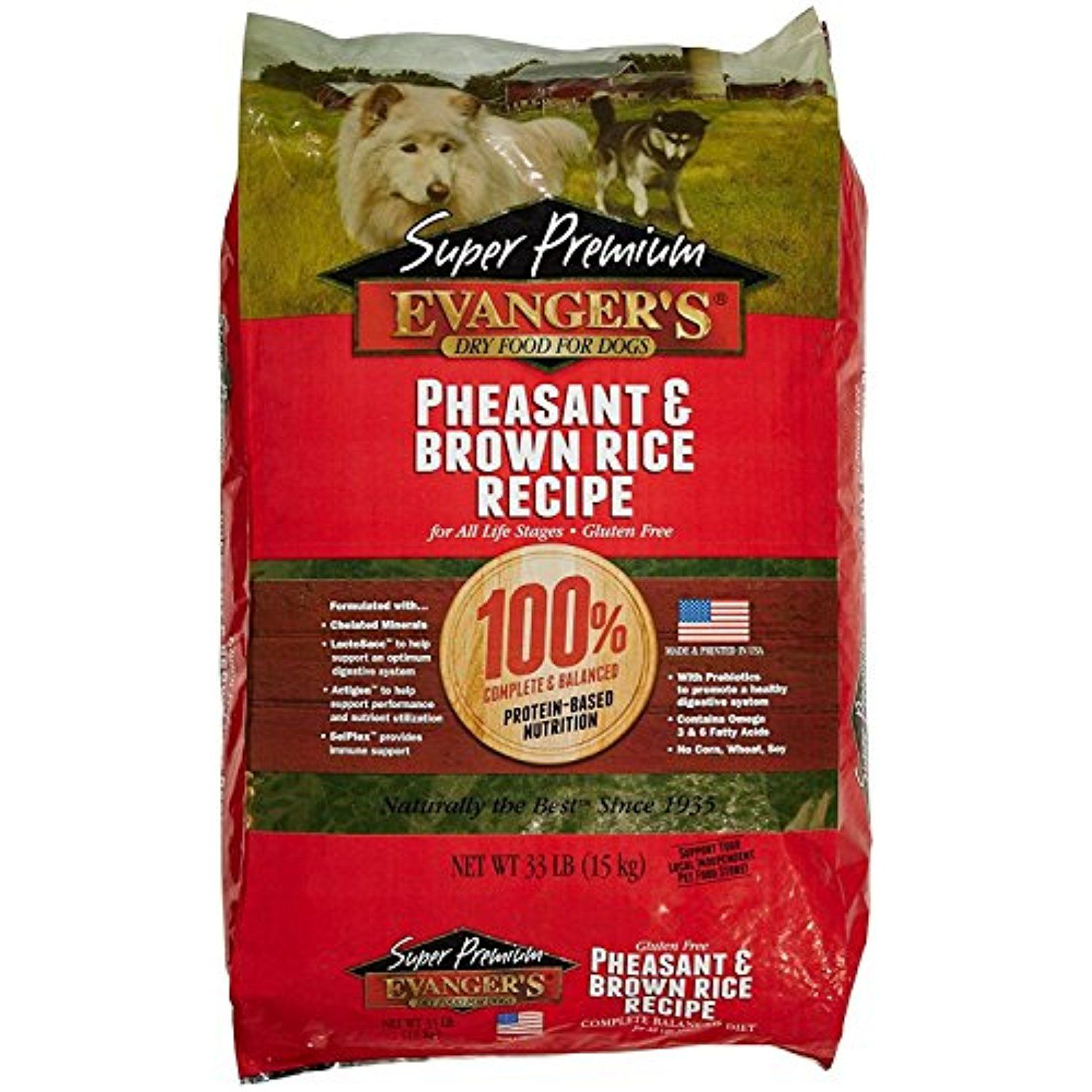 Evanger S 776004 Allergy Form Pheasant With Brrice Dry Food For