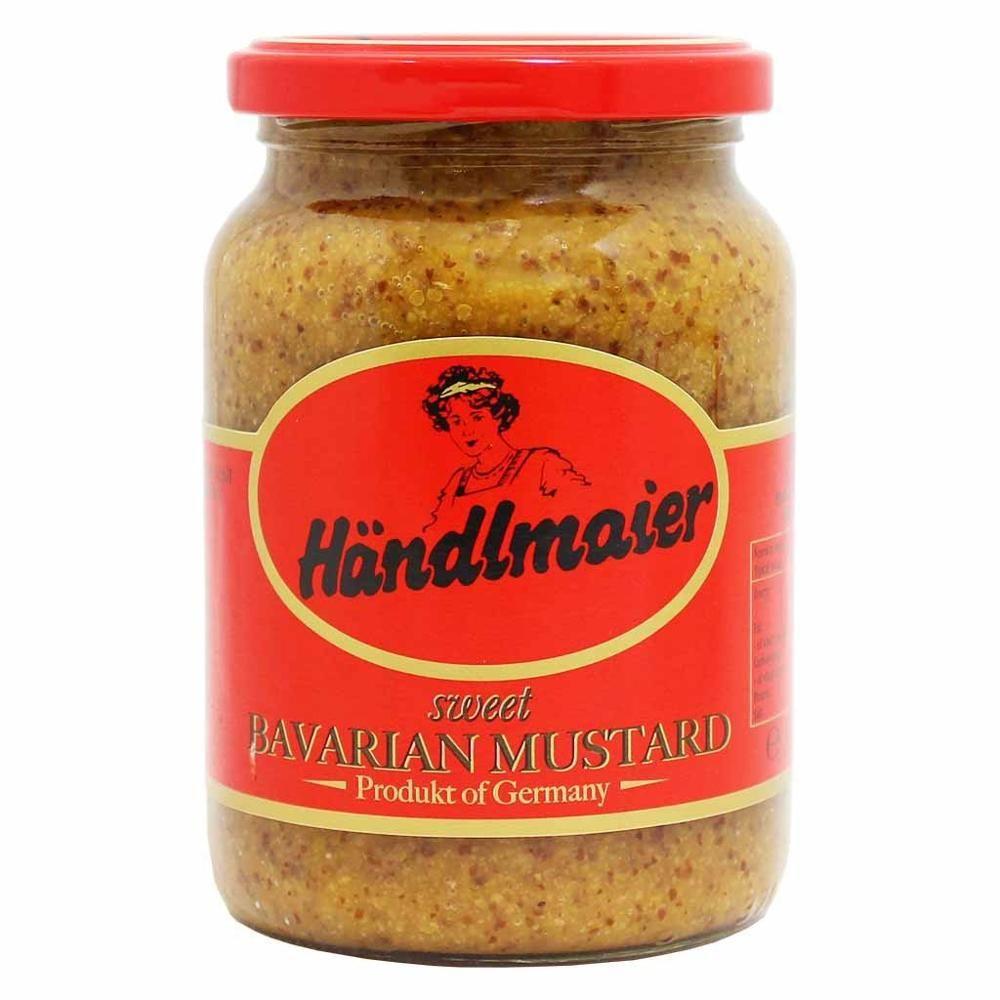 Handlmaier sweet bavarian mustard with images homemade