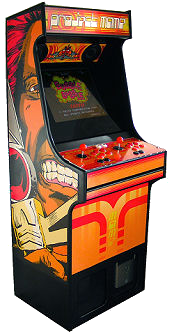 Project MAME U0026 WeeCade   Building A MAME Cabinet   Bartop Or Fullsize
