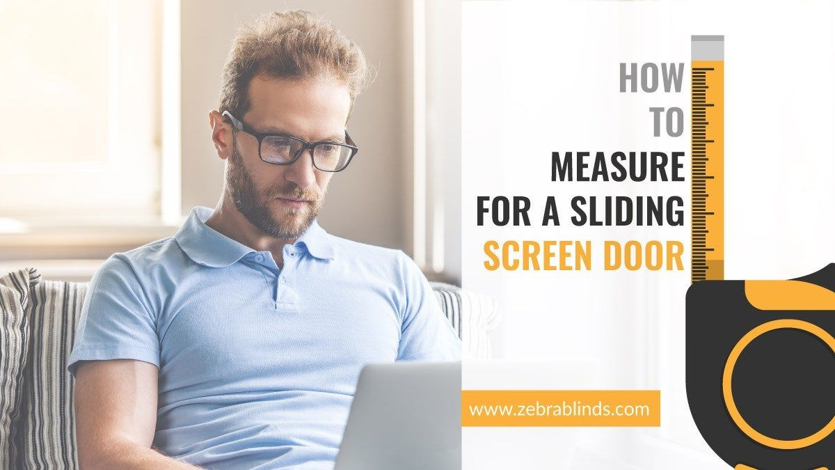 How To Measure For A Sliding Screen Door Sliding screen