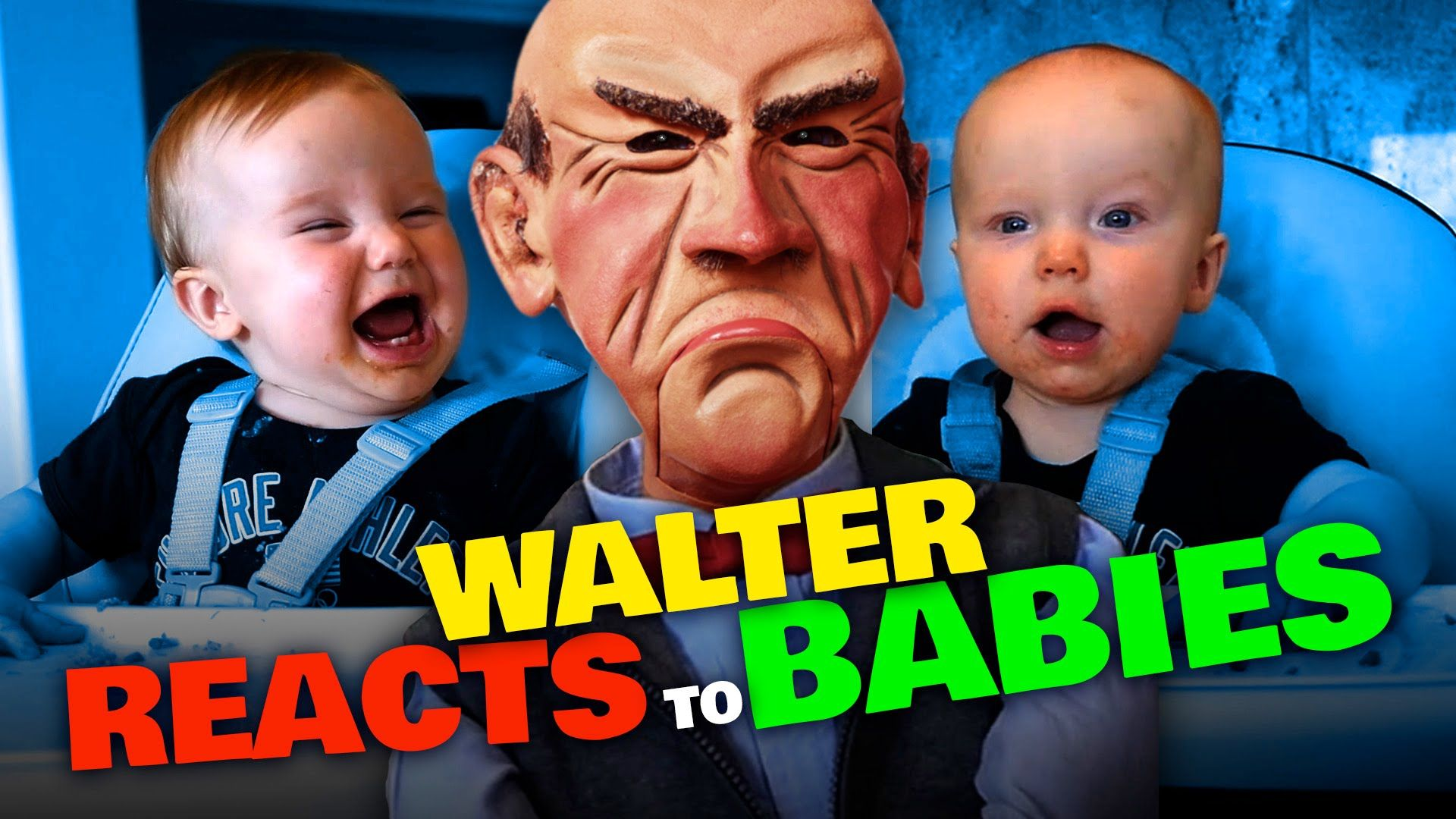 Walter reacts to the Twins | JEFF DUNHAM.... LOVE THIS ...