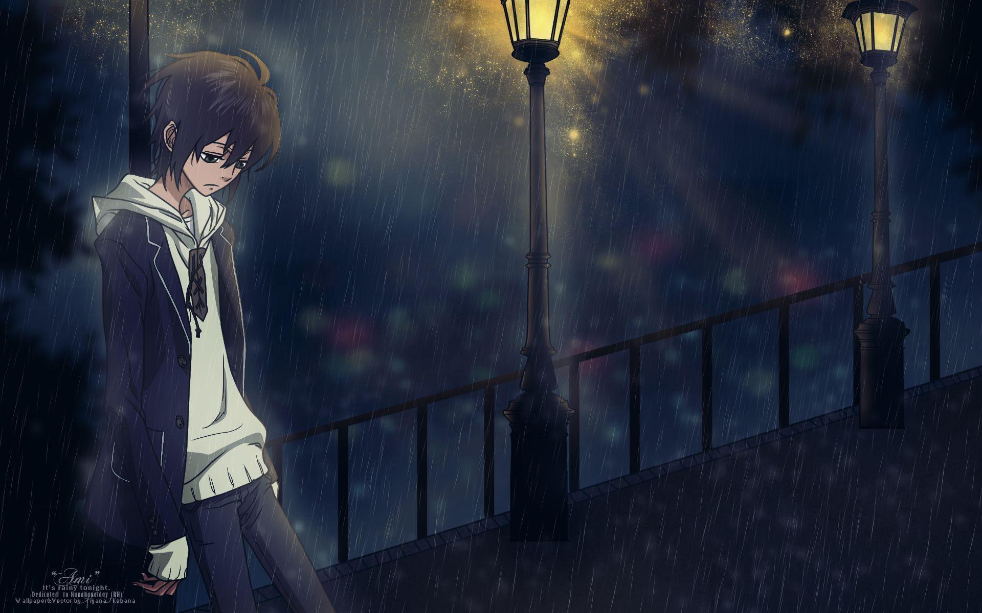 Hình ảnh Anime buồn về Boy và Girl đẹp nhất (Full HD)