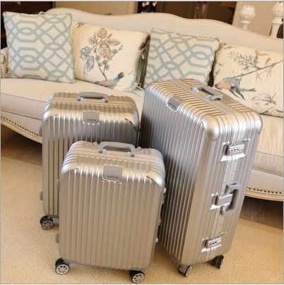 Weinstein aluminium magnesium alloy trolley luggage high quality ...