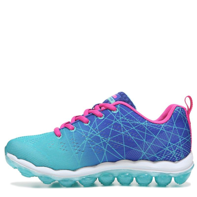 Skechers Kids' Skech Air Laser Lite Pre/Grade School Shoes (Blue/Aqua)