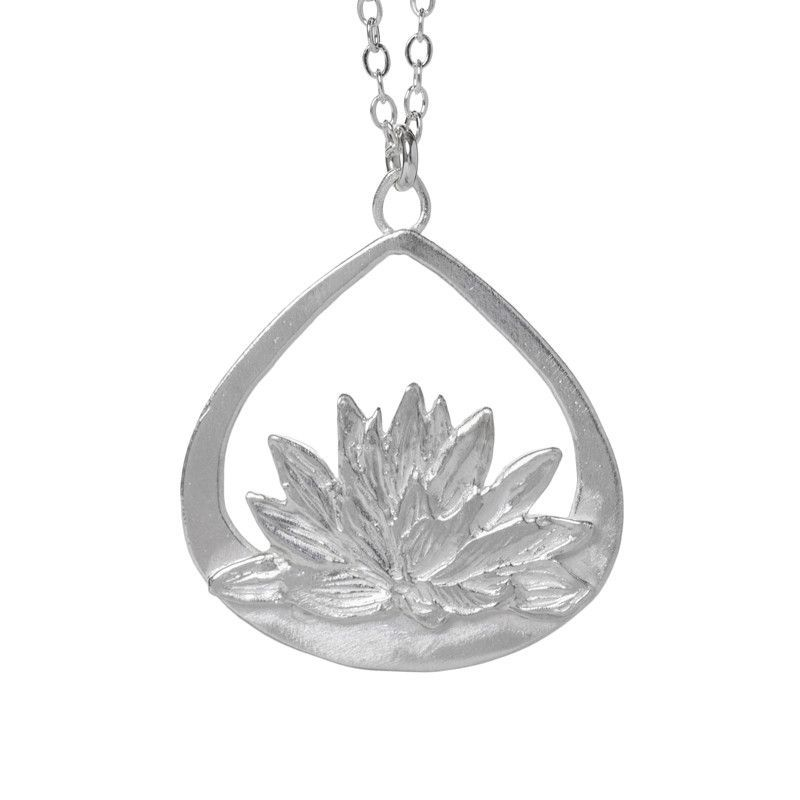 Water Lily Heaven Necklace