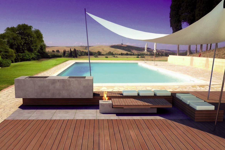 Outdoorküche Garten Edelstahl Anleitung : Outdoor kÜchen outdoorküchen minimalismus im garten eine