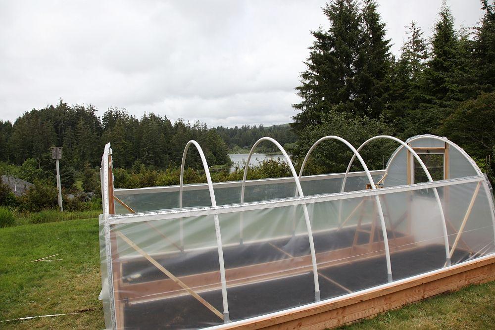 Diy Hoop House Plans Home Garden Backyard House