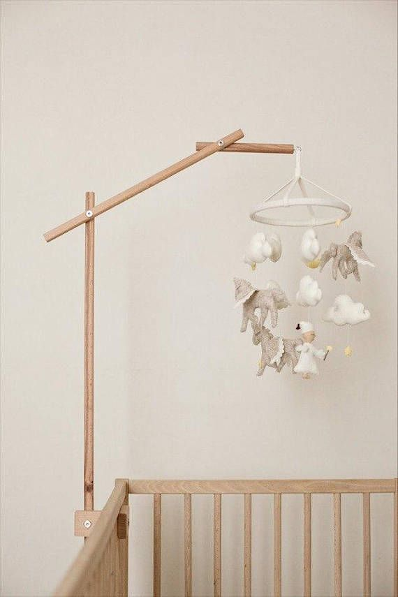 Mobile Holder / Baby Mobile / Baby Mobile Hanging / Wooden