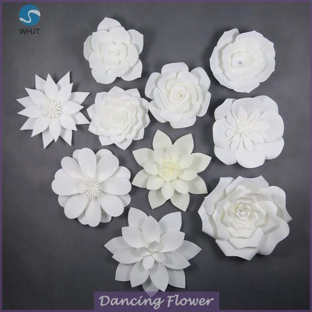 Wholesale decorative wedding ivory giant handmade paper flowers from wholesale decorative wedding ivory giant handmade paper flowers from mibaba mightylinksfo