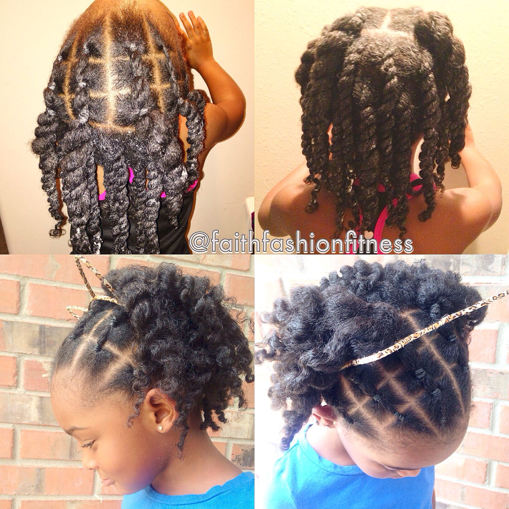 Natural Hairstyle I Saw Online And Tried To In My Daughter It Came Out Cute Top Natural Hair Styles Natural Hairstyles For Kids Transitioning Hairstyles
