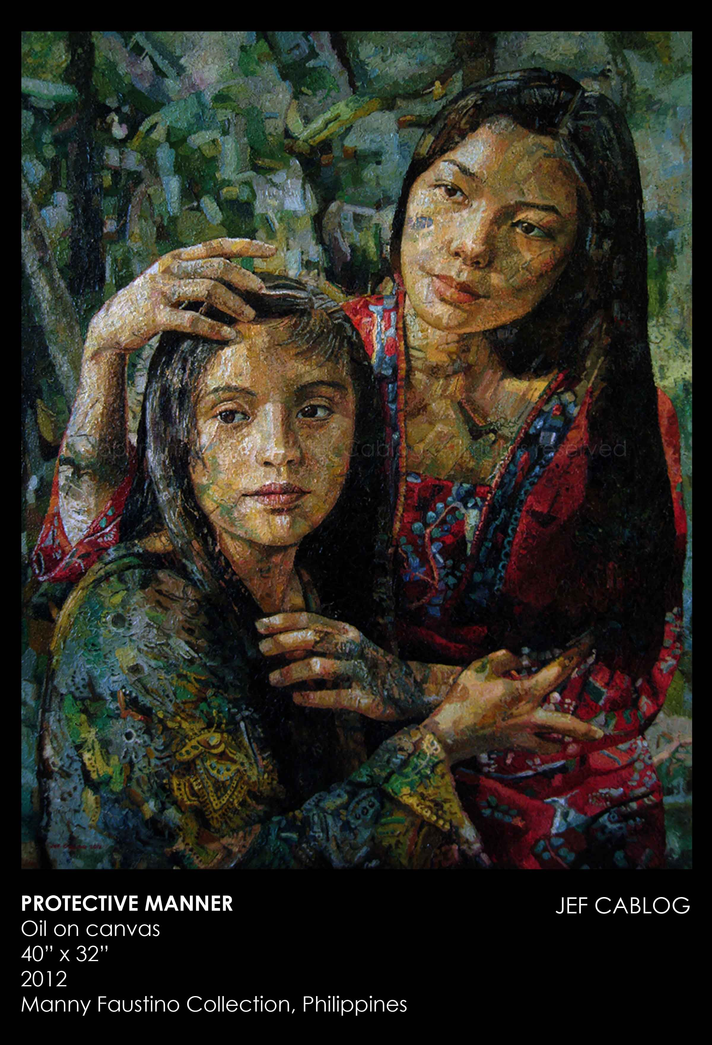 Oil Paintings by JEF CABLOG Philippine art, Filipino art