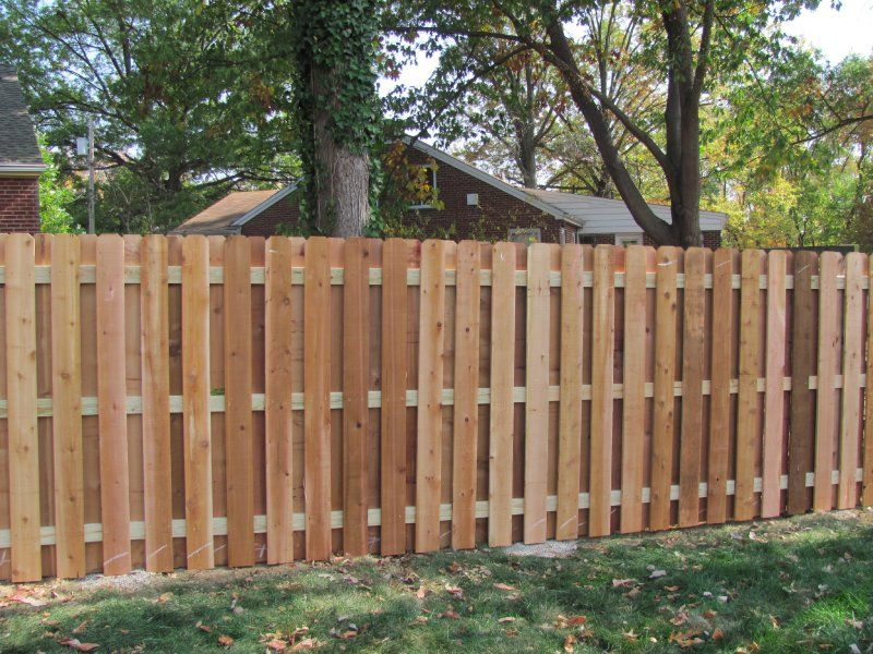Cedar Shadowbox Semi Privacy Fences Privacy Fences Fence Design Fence