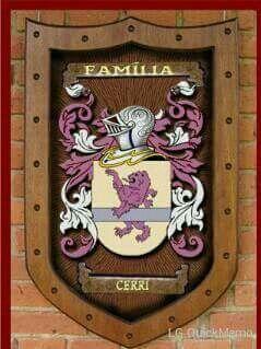 Brasão Família Cerri