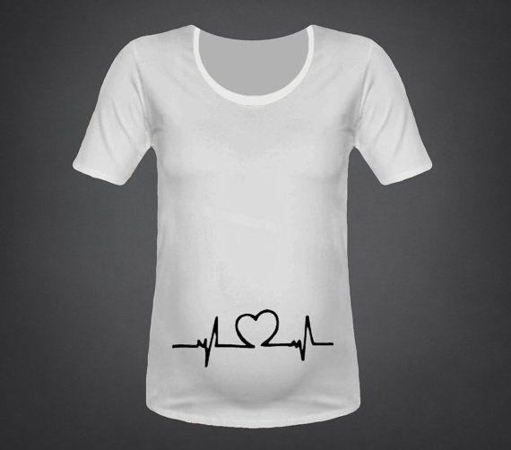 heartbeat True size Maternity t shirt Stuff to Buy Pinterest - halloween t shirt ideas