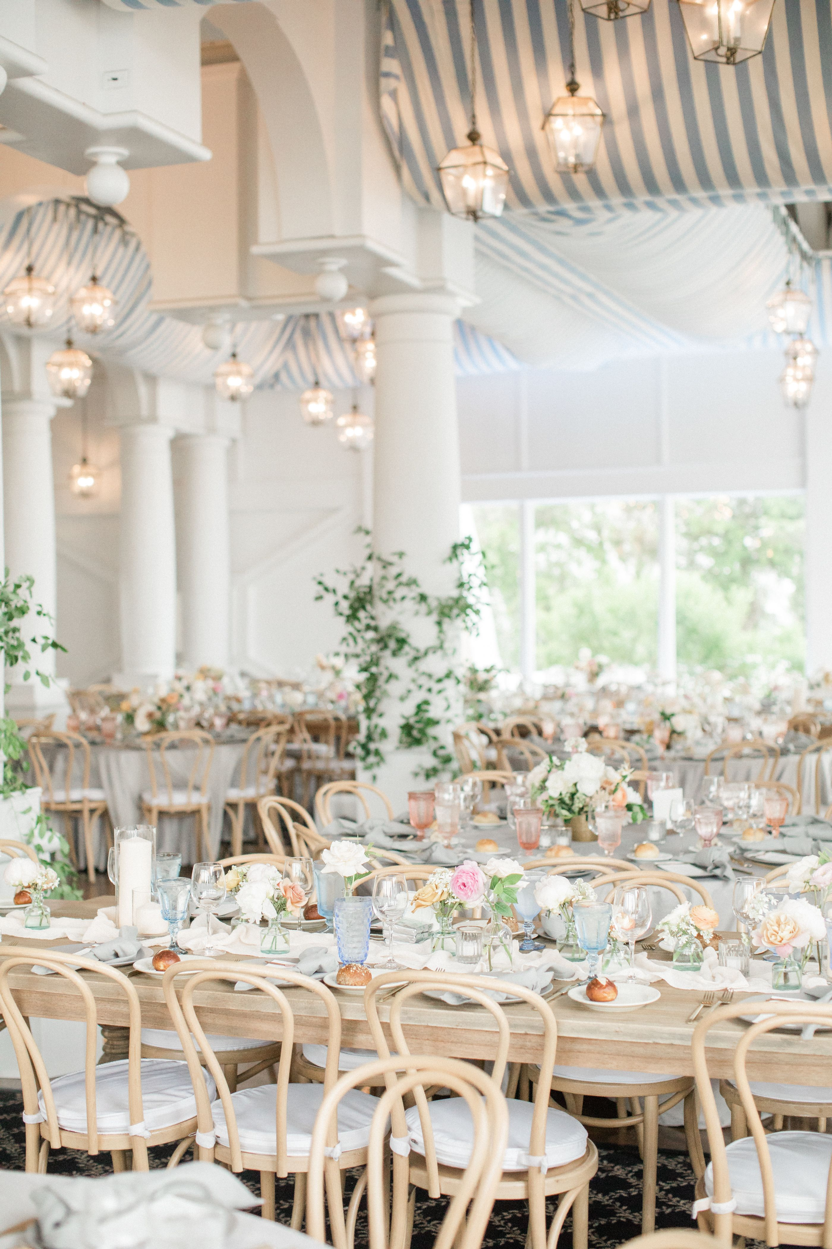 Bohemian Black Tie Wedding At Oceanbleu For These High School Sweethearts With Images Black Tie Wedding Wedding Dreamer Wedding Reception Decorations