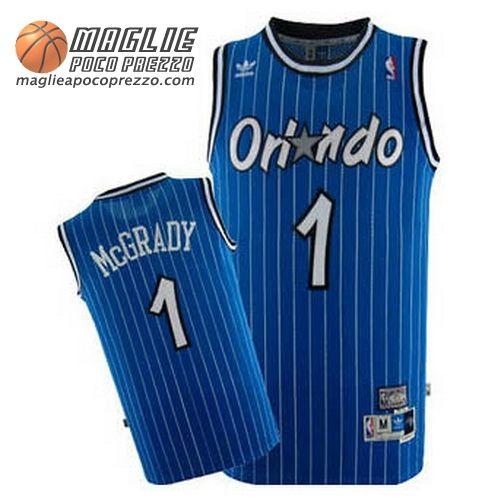 Canotte nba Mcgrady #1 blu Orlando Magic
