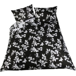 Bargain Living Erfly Black And White Double Duvet Cover Set Was 14 99 Now 5