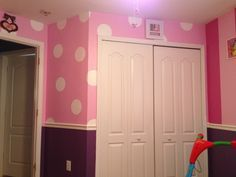 Minnie Mouse room-see other pins for description