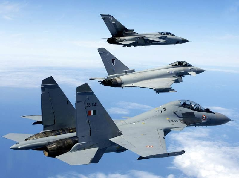 Tornado, Typhoon, Flanker