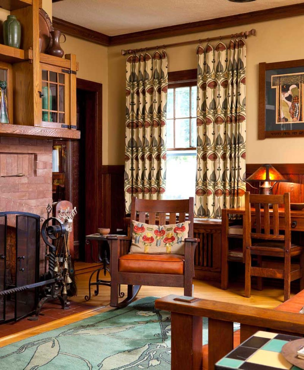 Textiles Then & Now | Arts & Crafts Homes
