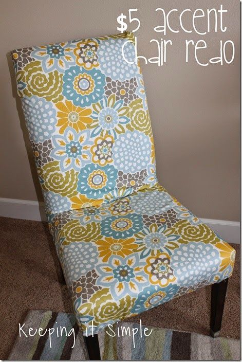Awe Inspiring Diy Furniture Idea 5 Accent Chair Redo Chair Redo Diy Bralicious Painted Fabric Chair Ideas Braliciousco