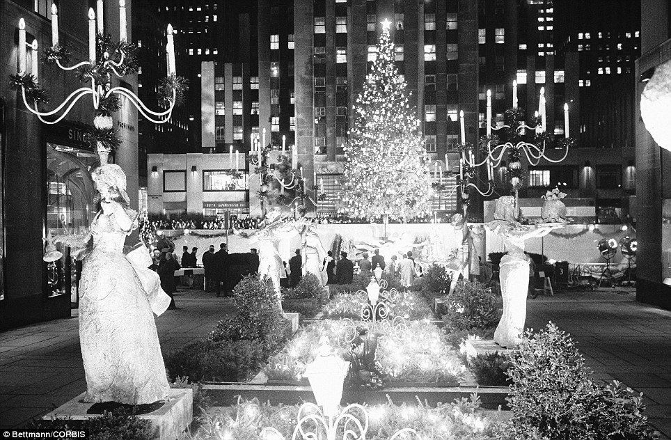 Rockefeller Center Christmas tree has been a tradition for