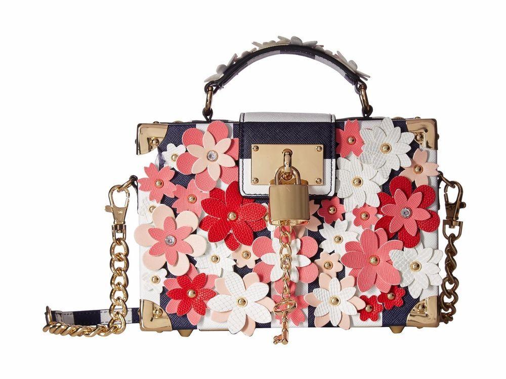 69234edfd8c Aldo Chearia handbag box bag Shoulder Bag with detachable shoulder chain NW