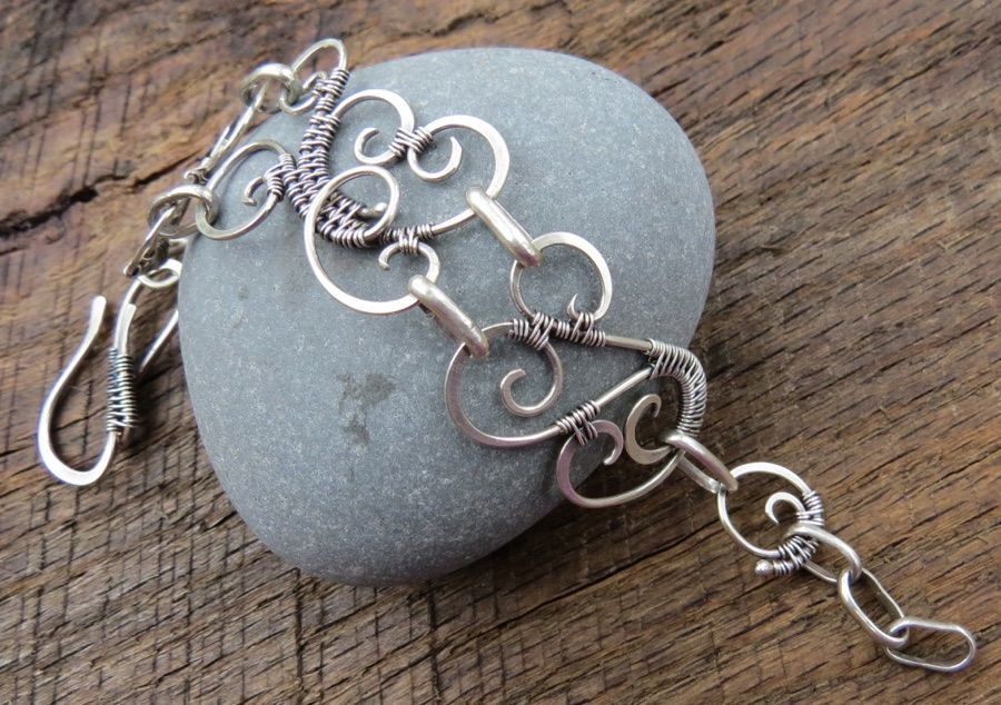 JanRa Jewelry -- Silver and Gold Wire Viking knitting, Weaving, and ...