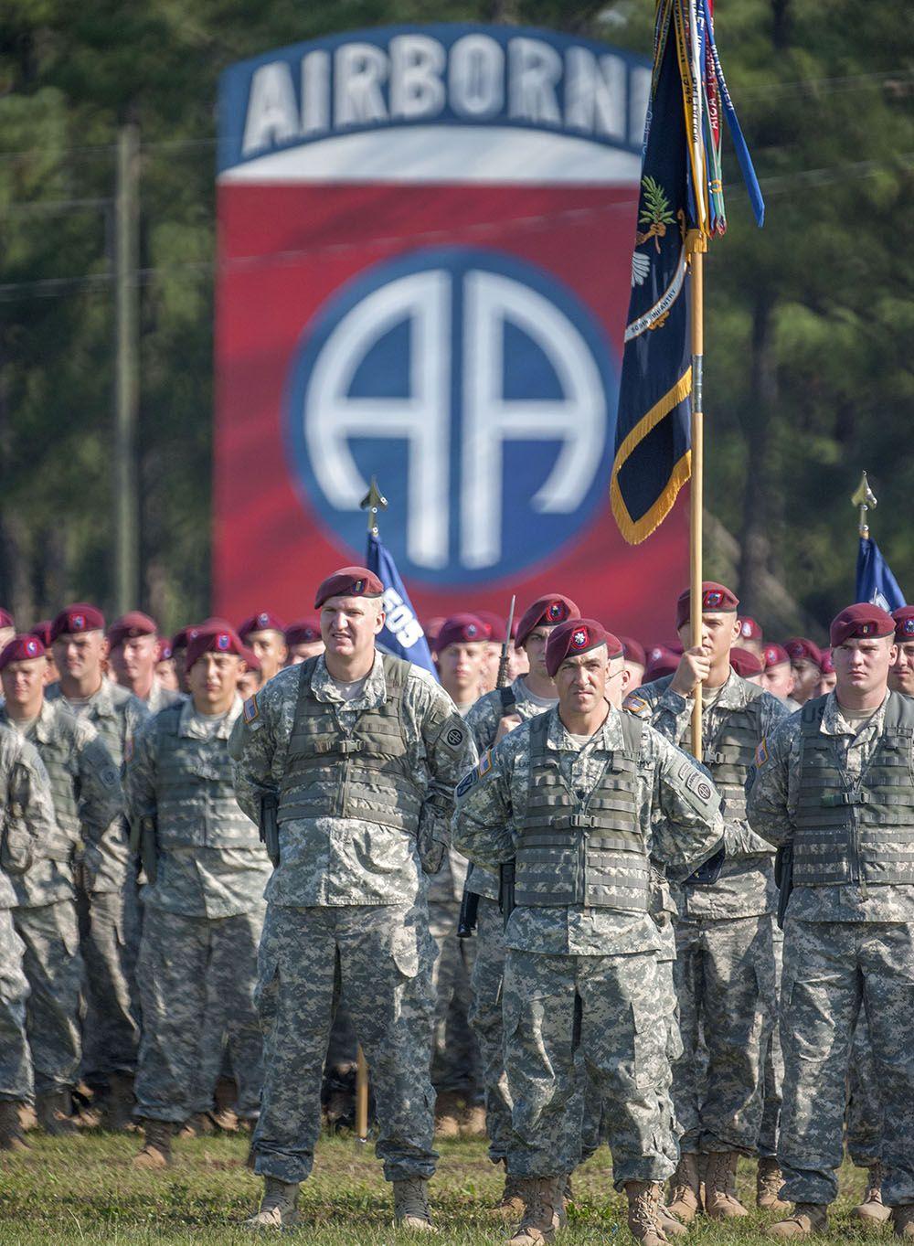 Based at Fort Bragg, North Carolina, the 82nd Airborne