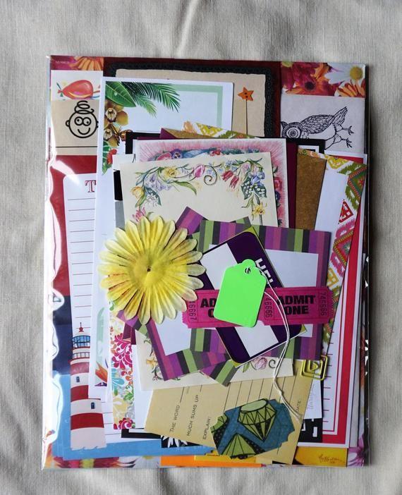 Custom Snail Mail Kit pen pal starter set, pocket letter kit