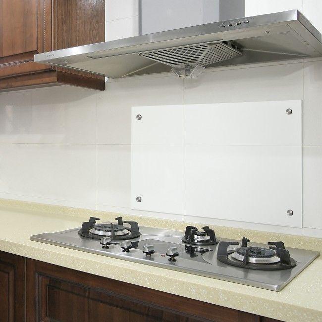 neuhaus® Glas Küchenrückwand Herdspritzschutz Herd Küche - spritzschutz küche glas