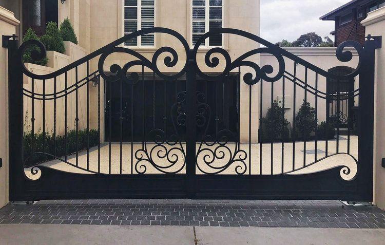 Magenta Wrought Iron Gates Wrought Iron Driveway Gates Iron