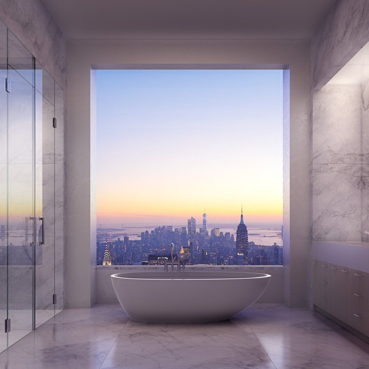The $US79.5 Million Penthouse On Manhattan's Billionaire Row Will Have Six Bedrooms And A Private Elevator | Business Insider
