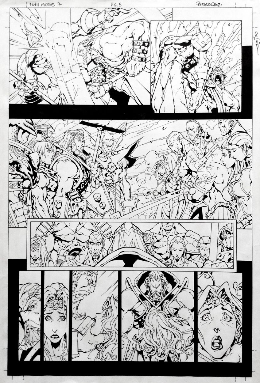10th Muse #07, page 05 - Roger Cruz, in RogerCruz's 10th Muse #07 Comic…