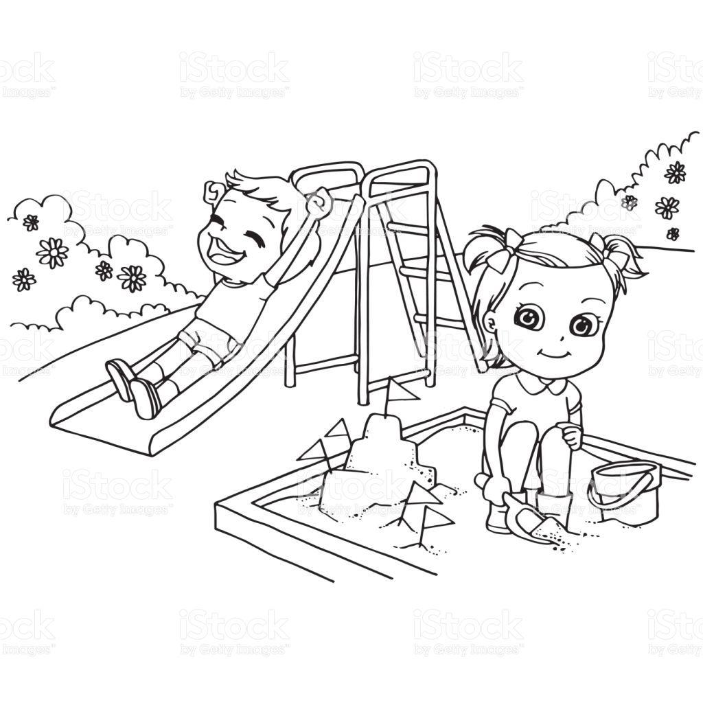 Desenho Sobre O Dia Das Criancas Para Colorir Desenhos De