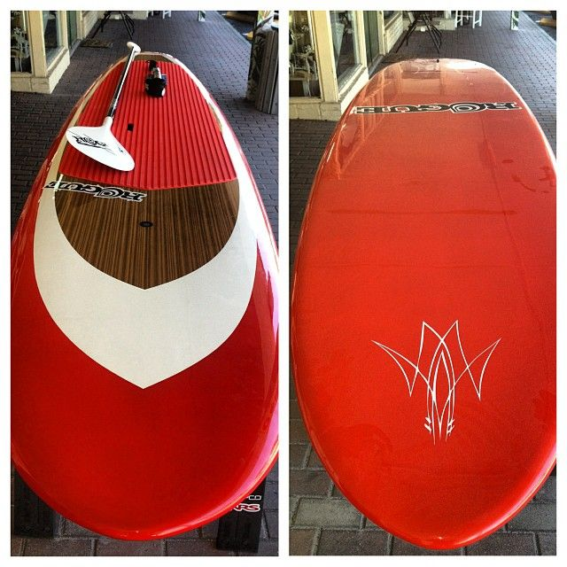 "One of the last 11' Rogue paddle boards out! Get the 11' x 29"" x 4.31"" Rogue Hot Rod at 24 lbs, with a Rogue cut-to-fit or adjustable (your choice) carbon fiber/fiberglass paddle and a Sticky Bump coiled leash. Call Karen at 727-466-7994 to get on the water!"