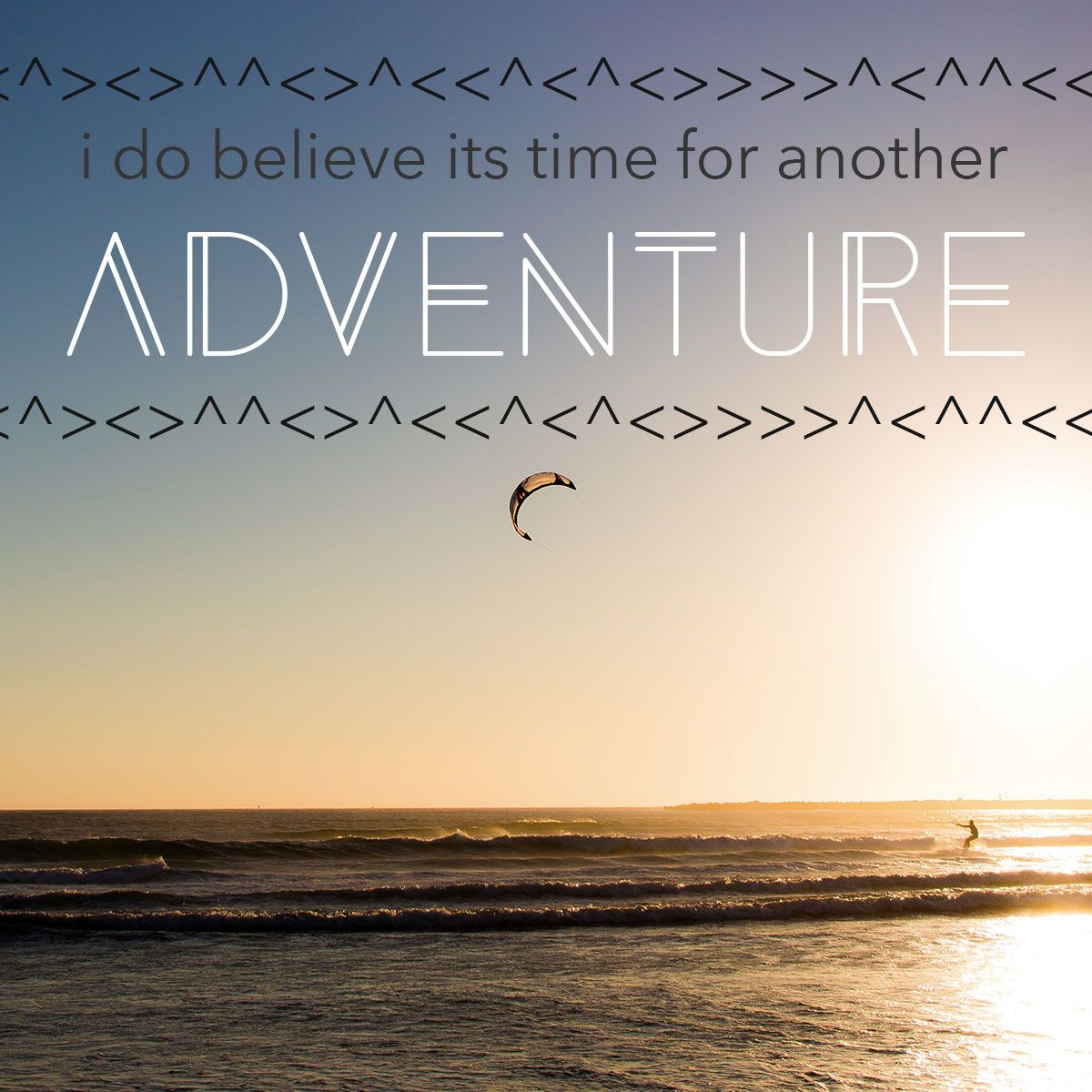 Raise your hand if you are ready for another adventure ...