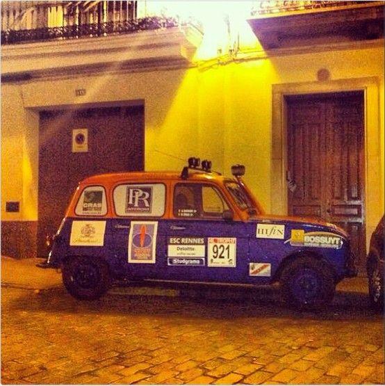 Renault 4 Rally, en Sevilla
