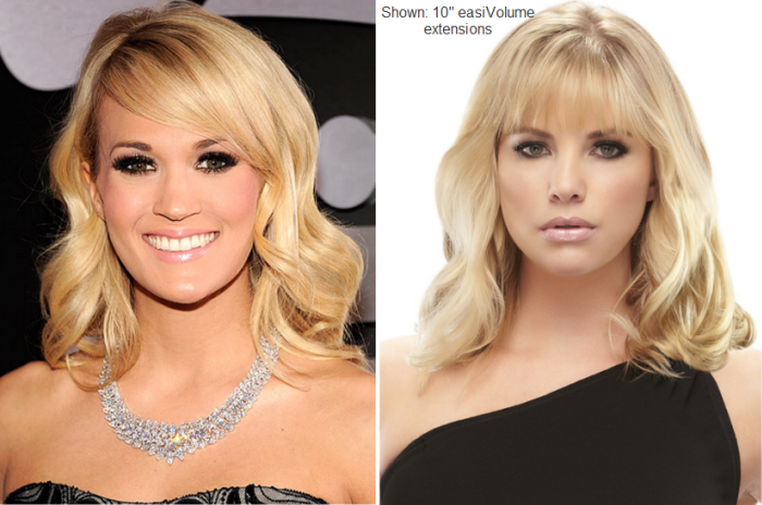 Carrie Underwood 10 Easivolume Extensions 2013 Grammy Awards