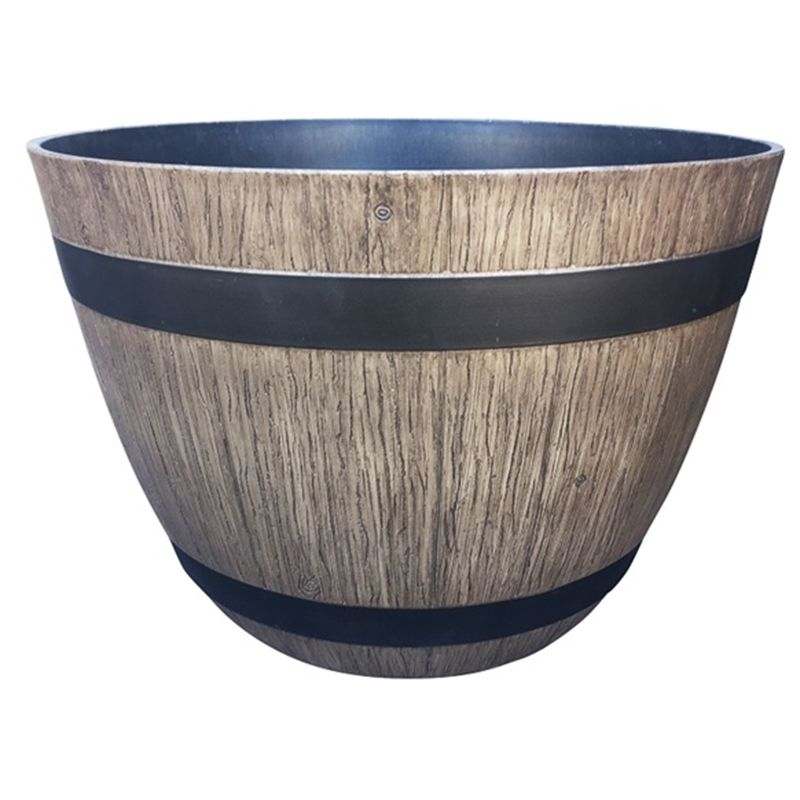 Find Northcote Pottery 37cm Driftwood Wine Barrel Southern Patio Planter At  Bunnings Warehouse. Visit Your