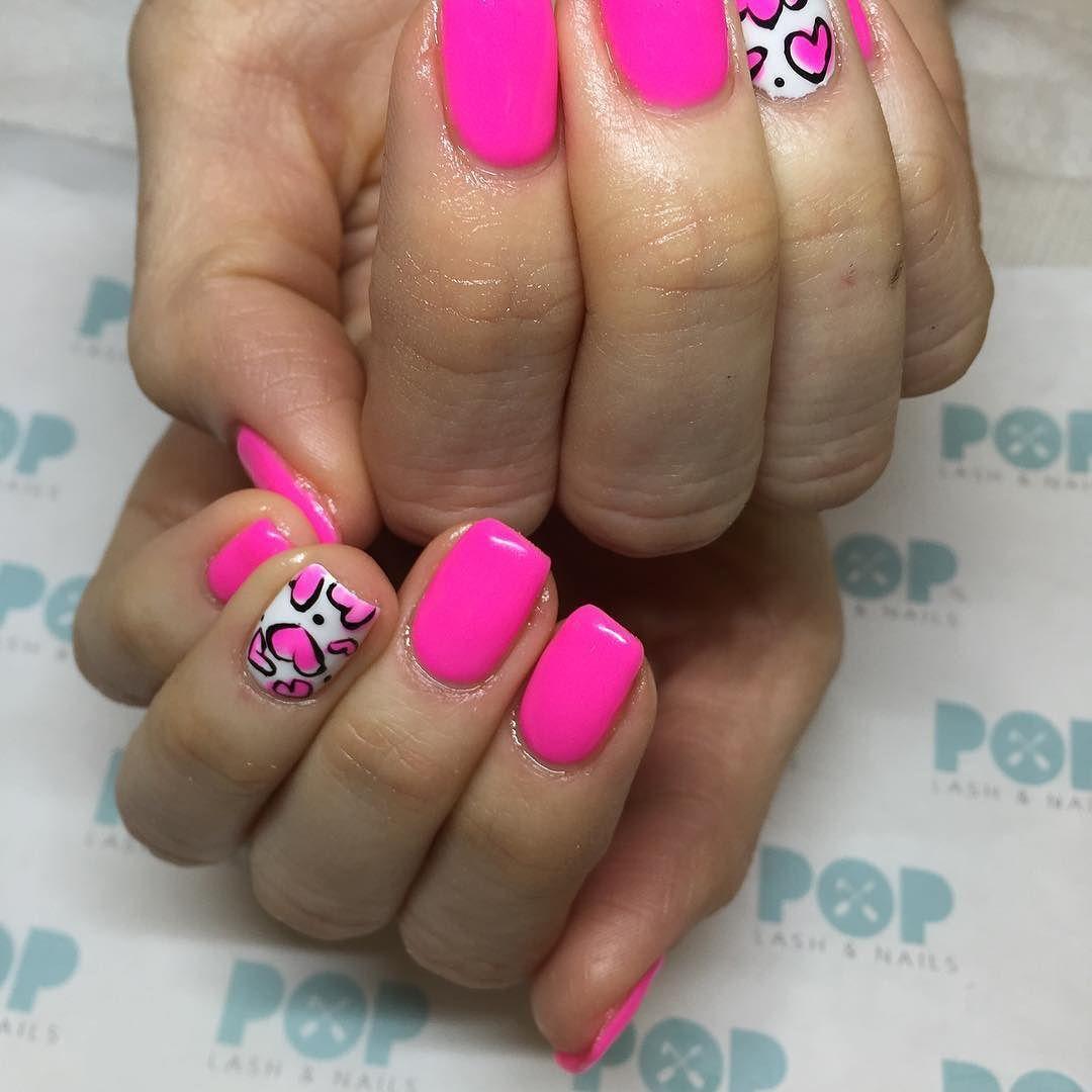 Gel Nails Art Design 2/11/4016 #popnaillv #poplashnailLV ...