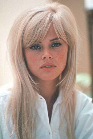 Britt Ekland Quotes Vintage Hairstyles Blonde Bangs