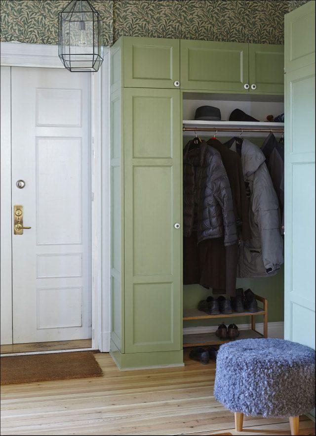 Foyer Closet Crossword : Built in hallway cabinets elegant builtin desk for