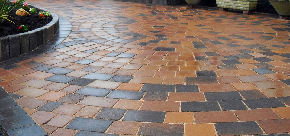 Brick Pavers Form The Bulk Of Driveways Paved Pool Areas And