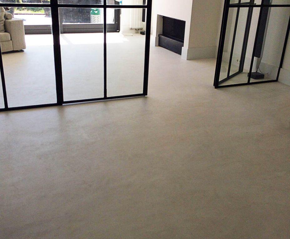 Betonvloer Schilderen Woonkamer : Afbeeldingsresultaat voor betonvloer verven vloer vloeren
